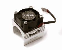 Brushless Motor Heatsink+Cooling Fan 17,000rpm for 1/16 E-Revo VXL & Slash VXL