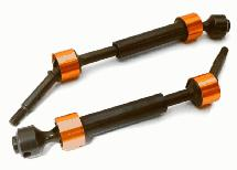 Dual Joint Telescopic Rear Drive Shafts for Traxxas 1/10 Slash 2WD