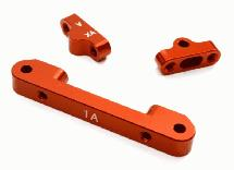 Billet Machined Alloy Front Suspension Mount Set for Tamiya 1/10 TA07 PRO
