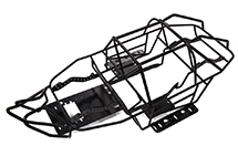 Realistic Scale Steel Roll Cage for 1/10 Axial SCX10 II Trail Crawler
