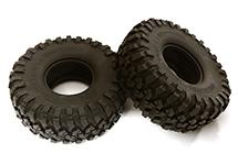 All Terrain Type Off-Road 1.9 Size Tire Set (2) O.D.116mm