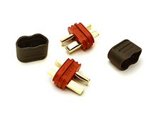 T-Style Type Plug Sheathed Connector Set (2) Male