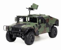 HG-P408 1/10 4X4 RC Military Humvee ARTR w/2.4GHz Remote, Sound & Light Upgrades