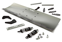 Alloy Machined 500mm Snowplow Kit for Arrma 1/8 Kraton 6S BLX