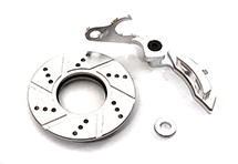 Billet Machined Front Disc Brake for Tamiya T3-01 Dancing Rider