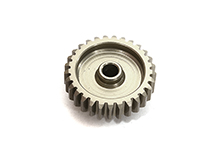 Billet Machined Mod 0.6 Pinion Gear 29T, 3.17mm Bore/Shaft for Brushless R/C