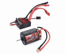 Surpass Hobby Crawler 540 Size 11T 5-Slot Brush Motor w/ BCD60A ESC