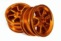 Billet Machined Rear Wheels for Tamiya T3-01 Dancing Rider