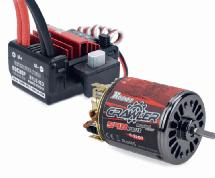 Surpass Hobby Crawler 16T 5-Slot 540 Plus Brushed Motor w/ BCD80P 80A ESC