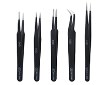 Precision Model Craft 5pcs Stainless Tweezers Set