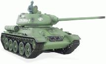 1/16 Scale Soviet T-34/85 Tank, 2.4GHz Remote Control Model HL3909-1 6.0