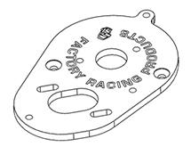 Motor Plate for 3racing Cactus