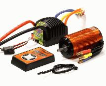 SPECS 4074 Brushless 1500Kv Sensored, 2S-6S ESC 165A for E-Maxx, E-Revo & 1/8
