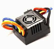 SPECS Brushless, 2S-4S 80A ESC for E-Maxx, E-Revo (-2017) & 1/8 Off-Road
