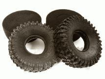 1.9 Rock Crawler Tire (2) Set for Traxxas TRX-4 Scale & Trail Crawler O.D.=118mm