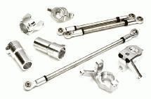 Billet Machined Conversion Hop-Up Kit Set A for Axial 1/10 SCX10 II (#90046-47)