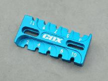 Alu. 6061 Suspension Rebound Gauge Multi tool (Light Blue)
