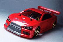 RIDE Mitsubishi Lancer EVO-X Body for 1/10 M-Chassis 225mm