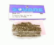 Square R/C Titanium Hex Screw Set (for Tamiya DF03Ra)