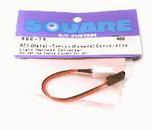 Square R/C BEC Male /Tamiya Female Conversion Connector