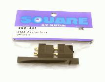 Square R/C XT-60 Connectors (2x Female)