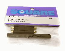 Square R/C XT-60 Connectors (1x Male/1x Female)