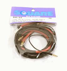 Square R/C LiPo 2S European Charge Cable, Small (600mm)