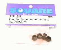 Square R/C Fluorine Coated Suspension Ball (for Tamiya TT-02)