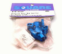 Square R/C Aluminum Rear Hub Carrier (for Tamiya TT-02B)
