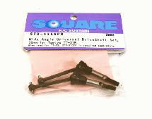 Square R/C Wide-Angle Universal Drive Shaft 35mm Standard Axle for Tamiya TT-01R