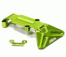 Billet Machined T2 Rear Skid Plate 1/16 Traxxas E-Revo, Summit, Slash, Rally