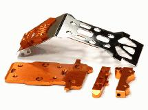 Steel Front Skid Plate for HPI 1/12 Savage XS Flux