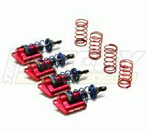 MSR6 Red Piggyback Shock (4) for Jato (L=81mm)