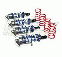 MSR6 Silver Piggyback Shock (4) for Jato (L=81mm)