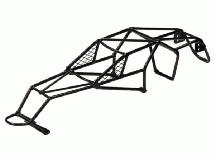 Steel Roll Cage Body for 1/10 Electric Stampede 2WD XL5
