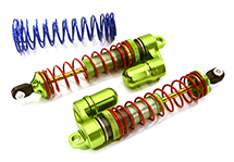 V2 MXR9 Rear Piggyback Shocks for Traxxas Stampede, Rustler 2WD & Slash