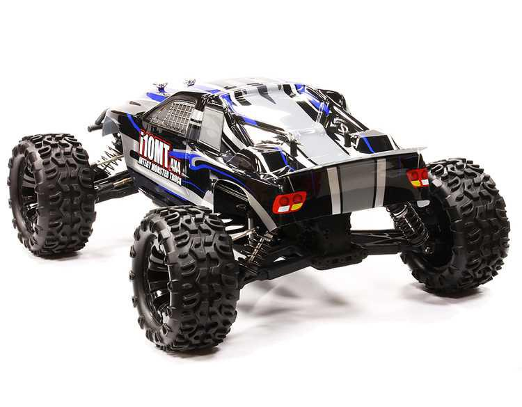 i10MT 4X4 High Performance 1/10 Monster Truck by INTEGY Less Electronics