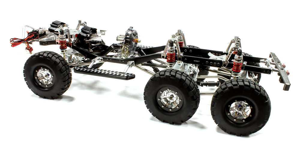 V2 Billet Machined 1/10 Trail Roller 6X6AWS Off-Road Scale Crawler ARTR