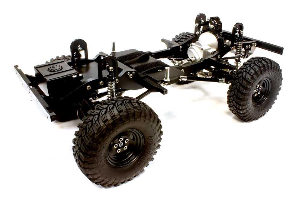 Billet Machined 1/10 Type D90EX Roller 4WD Off-Road Scale Crawler ARTR