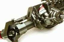 Billet Machined Complete Front Axle Assembly for Axial 1/10 RR10 Bomber 4WD