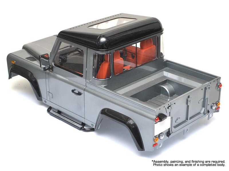 Hard Plastic Realistic Scale Body Kit For 1 10 Size D90 Pickup Gen 2 Off Road For R C Or Rc Team Integy