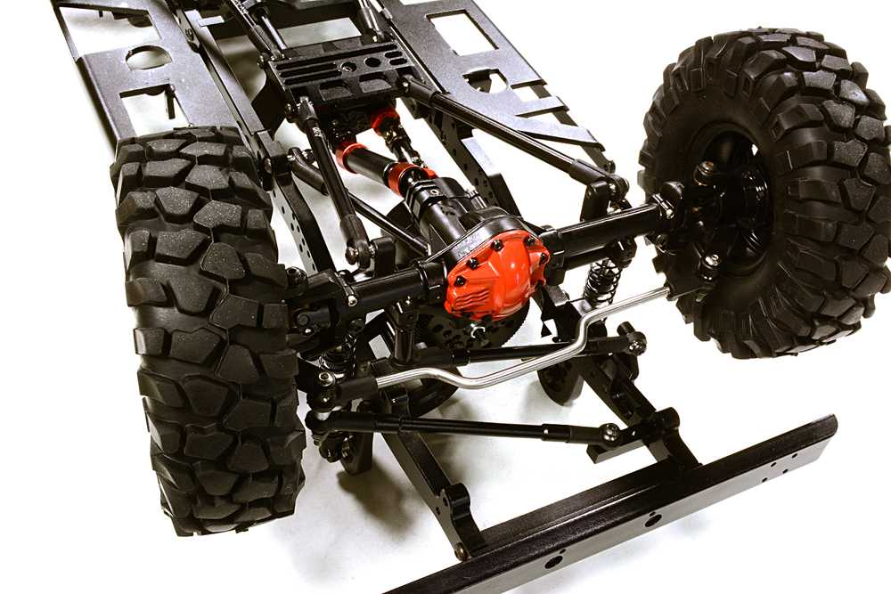 Billet Machined 1/10 D110 Gen-2 Roller 4WD Off-Road Scale Crawler ARTR