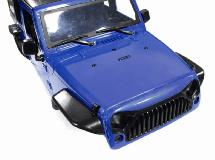 Realistic JW10-S Hard Plastic Body Kit for 1/10 Scale Off-Road Crawler WB=313mm