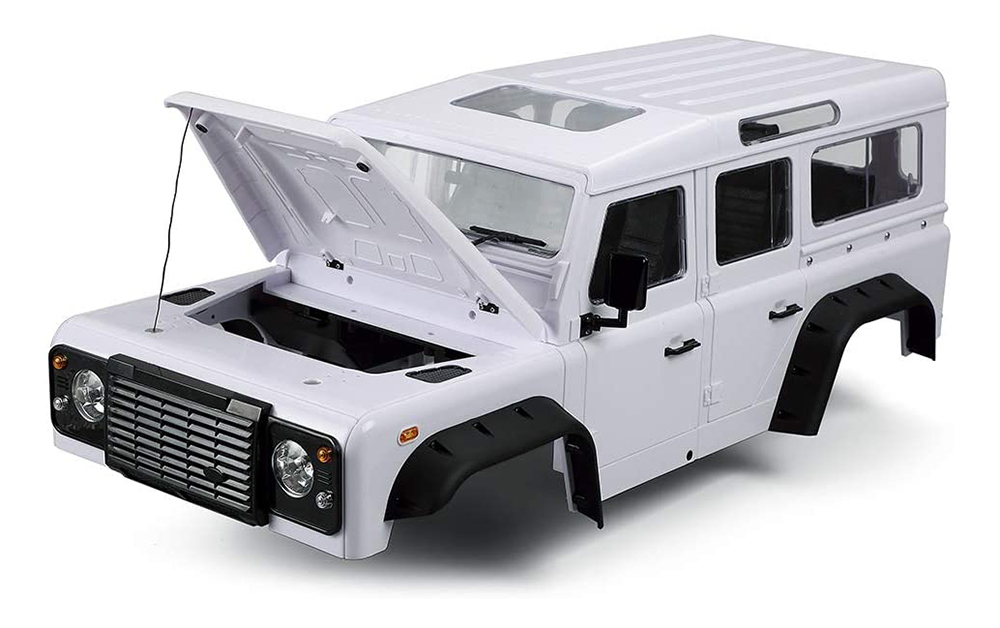 Realistic Hard Plastic Body Kit for 1/10 Size D110 Off-Road Crawler 313mm WB