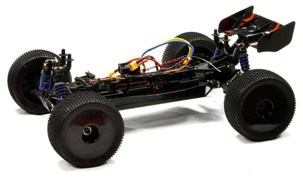 i8T 4x4 Brushless RTR 1/8 Performance All Terrain Truggy by INTEGY