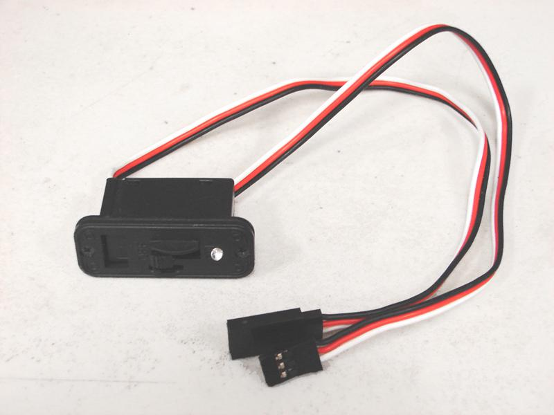 Wire Harness On/Off Switch + Inline Charging Jack (new) for R/C or ...