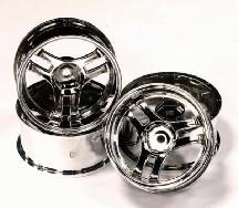 1/10 Scale Plastic Wheel (4) for RC Touring Car (new)