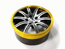 Replacement Steering Wheel Core YELLOWBLACK (click for compatibility)