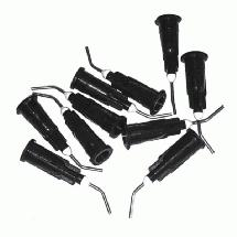 1up Racing Curved Steel Glue Tips (10)