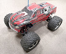 Traxxas 1/10  T-Maxx 3.3 4907 4x4 Monster Truck (used)